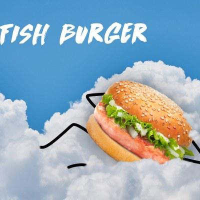 Planet Burger Fish Burger