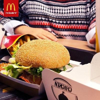McDonalds pauza de la mancaruri traditionale
