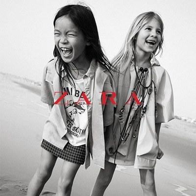 Noua colectie pentru copii Zara