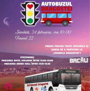Autobuzul Dragostei Liga Studenteasca Bacau-Dragobete