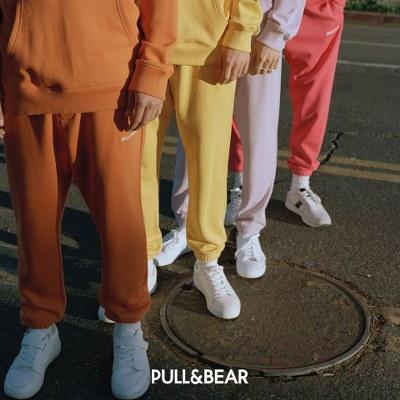 Trening in culori pastelate Pull and Bear