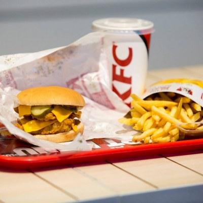 Meniu Dublu Booster KFC