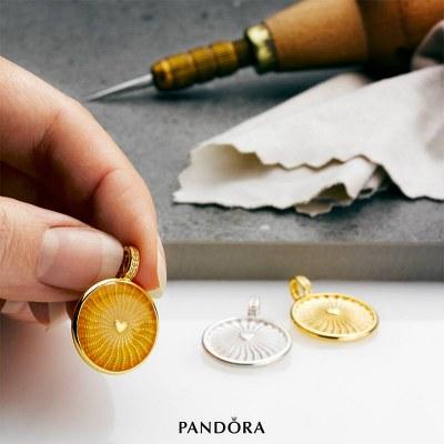Bijuteriile raze de soare Pandora Sabrini
